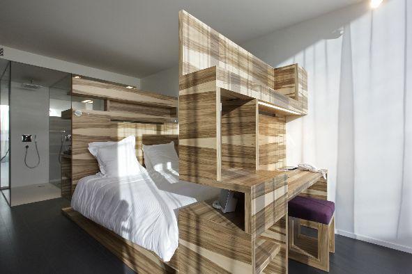 lit en alcove. Black Bedroom Furniture Sets. Home Design Ideas