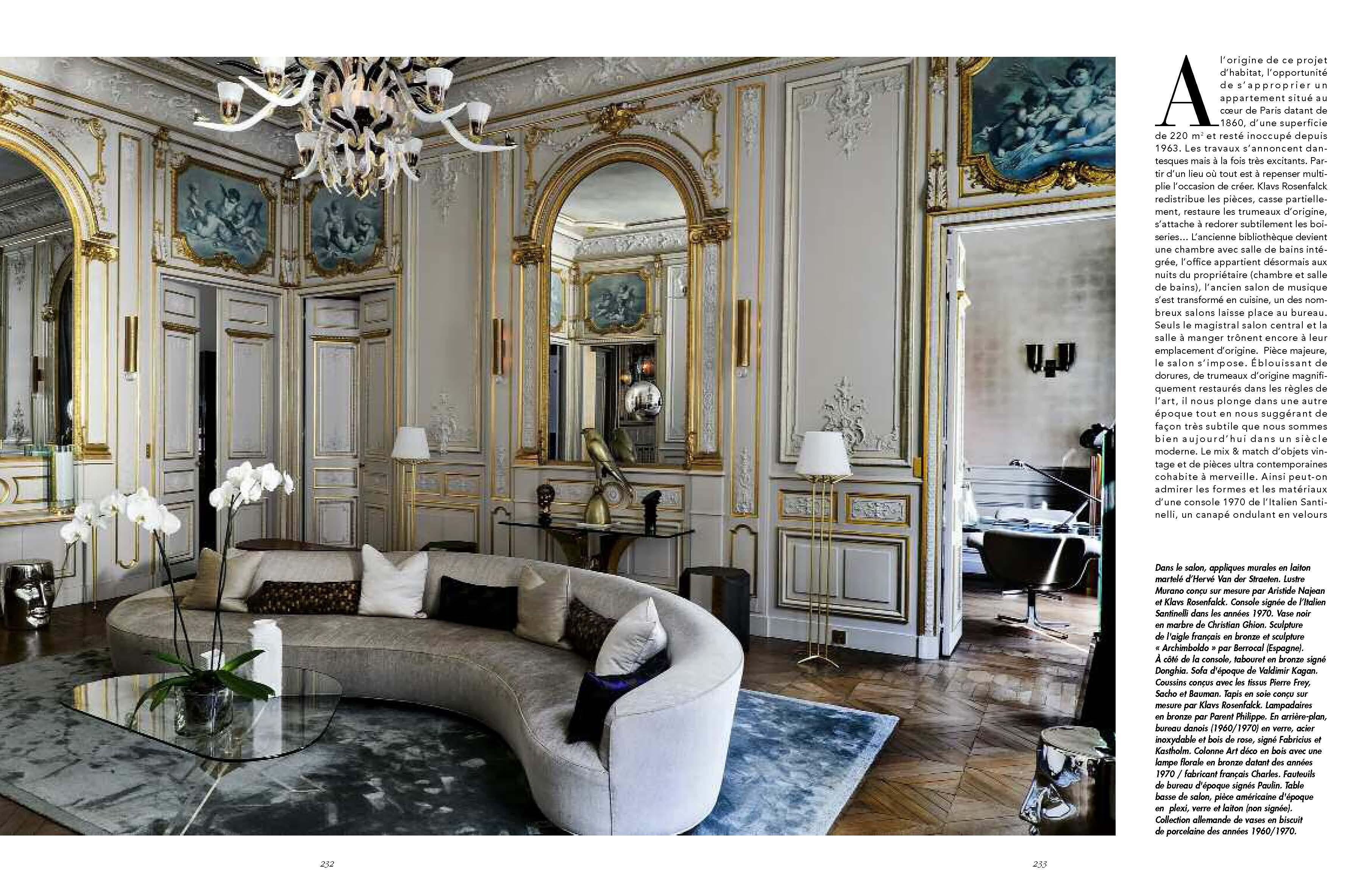 Esth tique clectique par klavs rosenfalck les plus beaux int rieurs emmanuelle morice - Les plus beaux interieurs ...