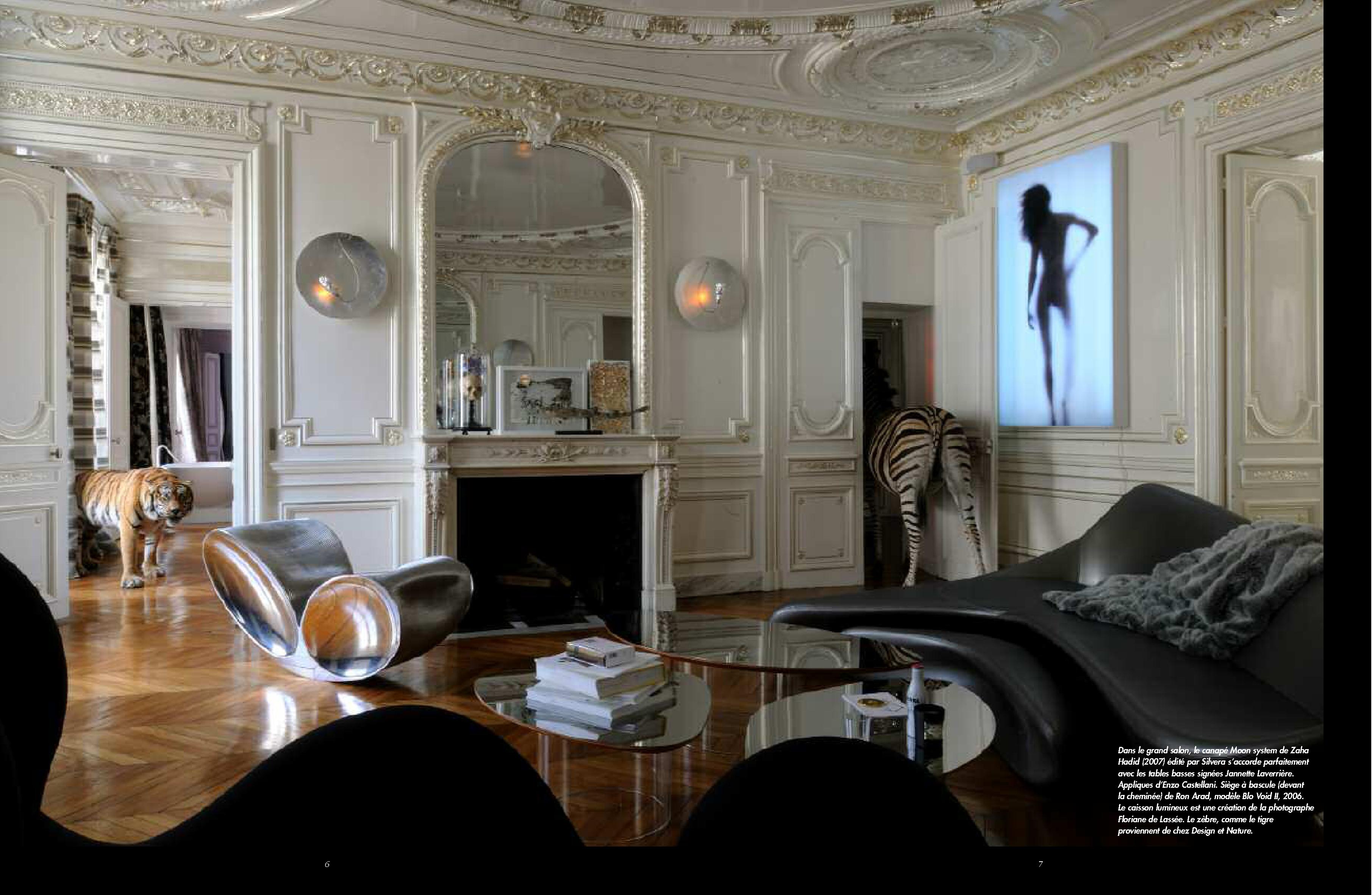Jeu d 39 illusions et de perspectives les plus beaux int rieurs emmanuelle morice - Les plus beaux interieurs ...