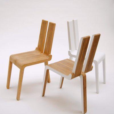 Chaises par Mathias van de Walle