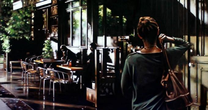 Duytter - Catherine, 2015, Acrylique sur toile, 116X81 cm
