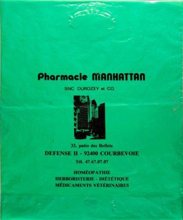 Pharmacie Manhattan, Courbevoie Tour Aurore, 1971 (demolition 2013) Claude Damery, Pierre Vetter & Gilbert Weil