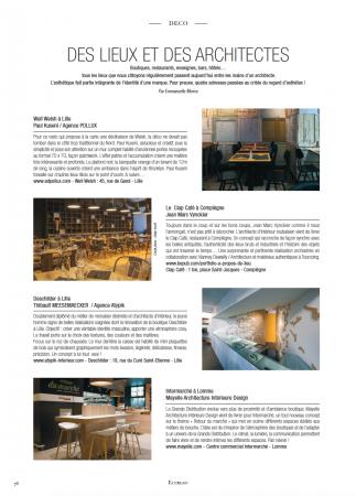 Des archis et des lieux - Eccelso Magazine