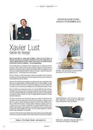 Xavier Lust - Eccelso magazine