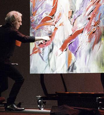 Concert de peinture® Mathias Duhamel