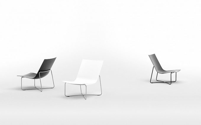 Low chair LC03 - Maarten Van Severen
