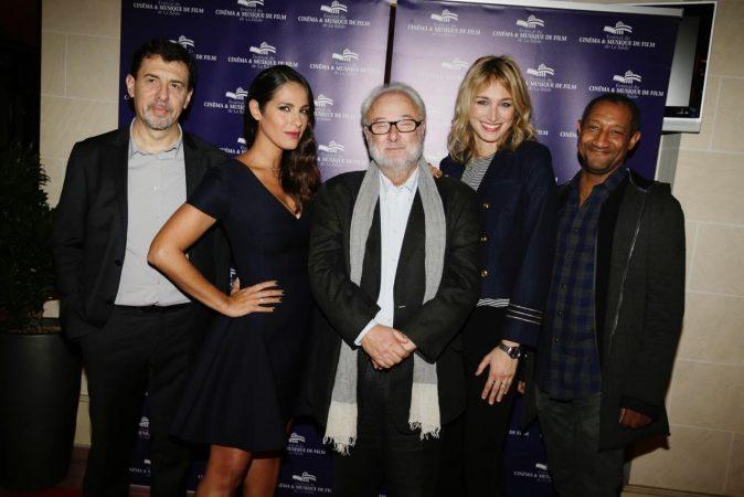 Jury festival du Cinéma et de Musique de Film de La Baule. De gauche à droite : Eric Michon, Elisa Tovati, Gérard Corbiau, Pauline Lefevre et Edouard Montoute