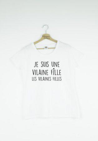 Tee-shirt - Les vilaines filles - My Box Corner