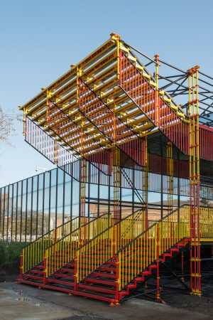 ADAM - Escalier Jean Nouvel / Copyright : ADAM - Christophe Licoppe / Befocus