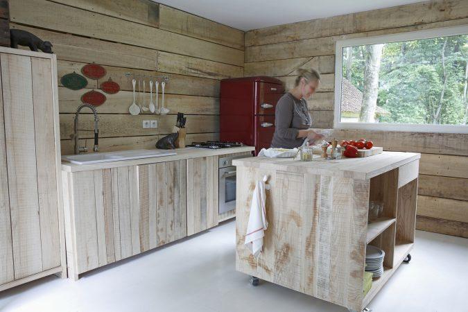 Un matin dans les bois -  cuisine