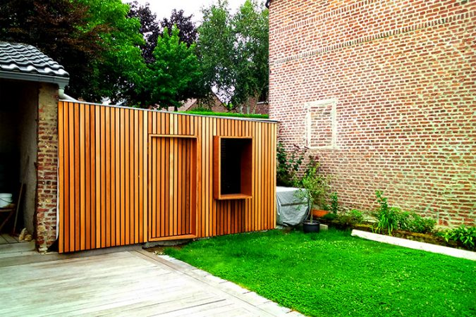 designwithgenius - cabane en bois