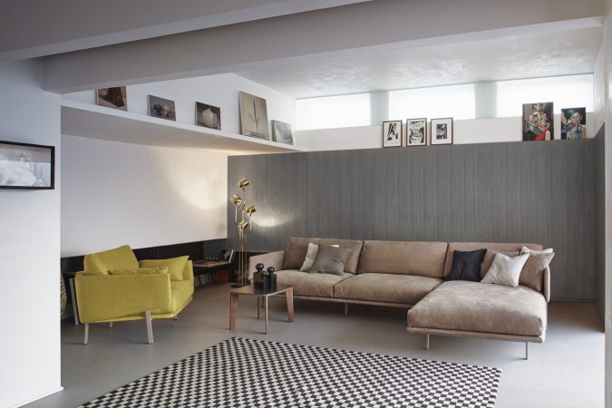 BONALDO_STRUCTURE Sofa and Arlchair_Design Alain Gilles