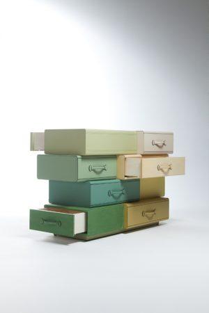 Chest of Suitcases - Maarten De Ceulaer