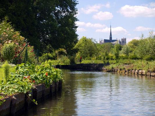 Gîtes dans les hortillonnages à Amiens