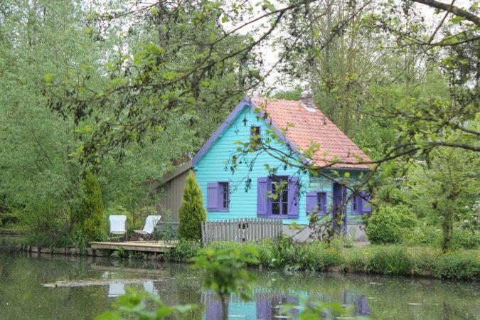 La cabane bleue - D'une île à l'autre