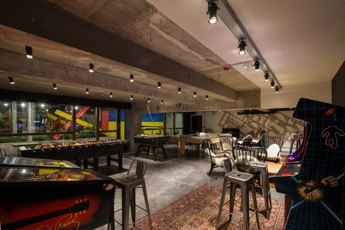 jam-hotel-Bruxelles-salle de jeux