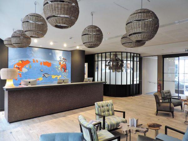 Accueil Hôtel L'Arbre Voyageur