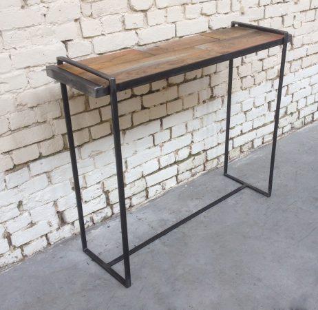 Giani Desmet - Console en bois et métal