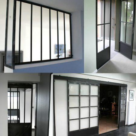 Giani Desmet - Verrières et portes coulissantes sur mesure