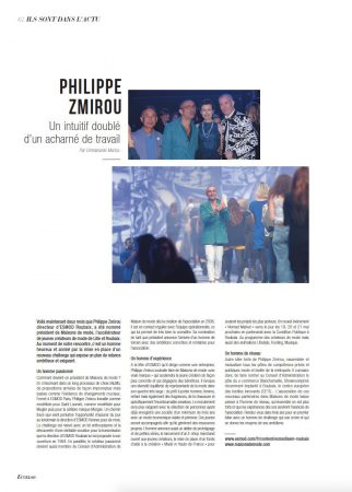 Philippe Zmirou - Maisons de Mode - Eccelso Magazine