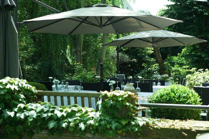Jardin chambre d'hôtes Les Toquées Lille