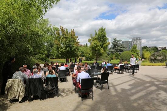 Le jardin des Géants - Terrasse Lille