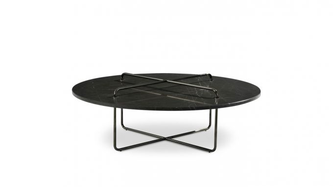 Table basse en marbre Button pour Roche Bobois