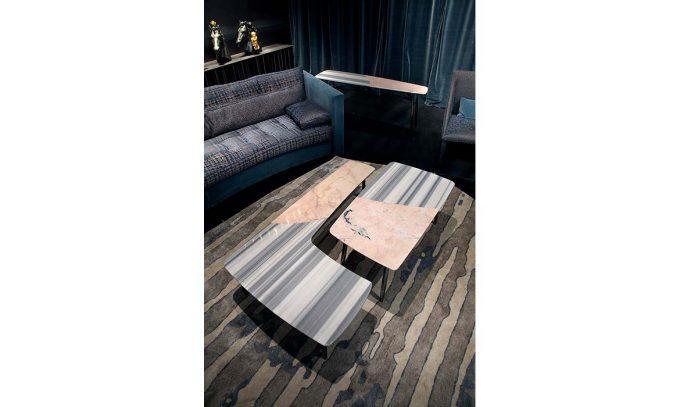 Table basse en marbre Suerte pour Erba