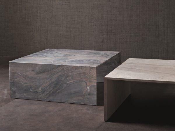 Table basse en marbre Terrae Pour Flou design
