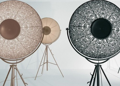 Lampadaire Fortuny Ornements pour Pallucco