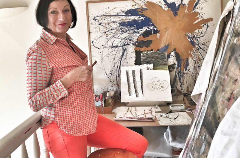 Invitation dans l'appartement atelier de Martine Nicoletti