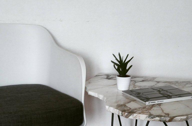 Les tables en marbre de Laurène Watine