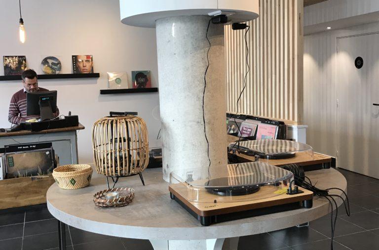 Le mange-disque à Roubaix, concept resto / vinyles